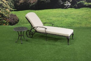 Sarasota Sun Lounger and Side Table