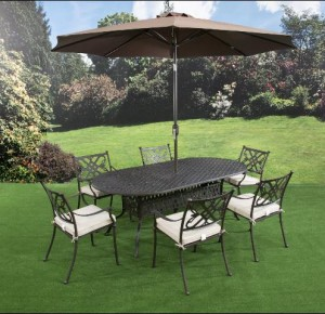 Sarasota 6 Seat Oval Dining Set