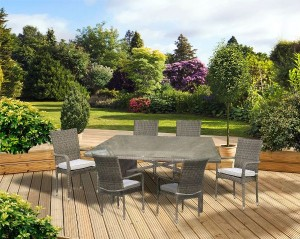 Toulouse 7 piece Dining Set