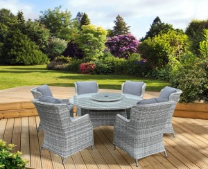 Verona Deluxe 6 Seater Dining Set