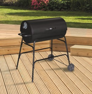 32 inch Oil Drum BBQ plus Cover