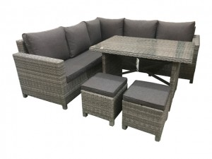 Tuscany Deluxe Corner Dining Set High Back